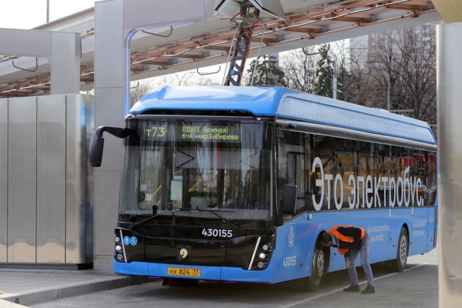 Москвы вышла на первое место в Европе по количеству электробусов
