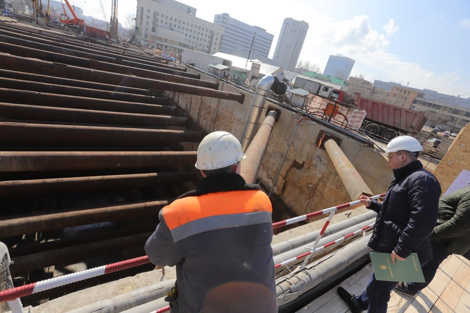 Мэр Москвы подписал проект планировки  участка БКЛ метро между станциями «Давыдково» и «Аминьевское шоссе»