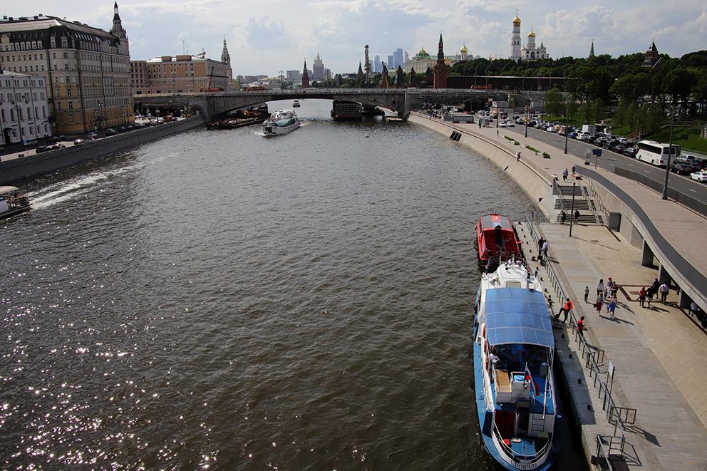 Более 150 км московских набережных благоустроят до конца 2023 года