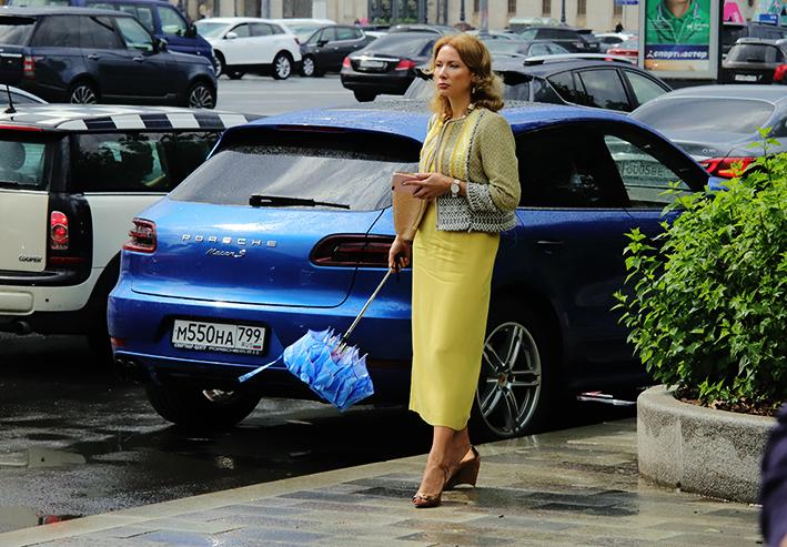 До 30% месячной нормы осадков может выпасть в Москве в пятницу