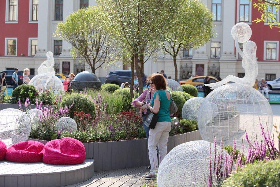 Яблоневый сад из 130 деревьев появится на Манежной площади к фестивалю «Николин день»