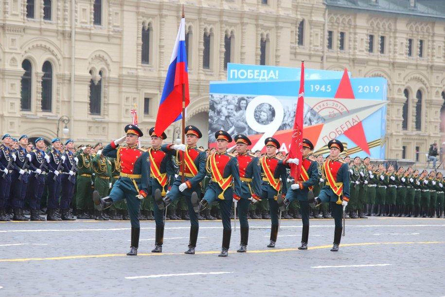 На Красной площади завершился парад в честь 74-ой годовщины Победы в Великой Отечественной войне
