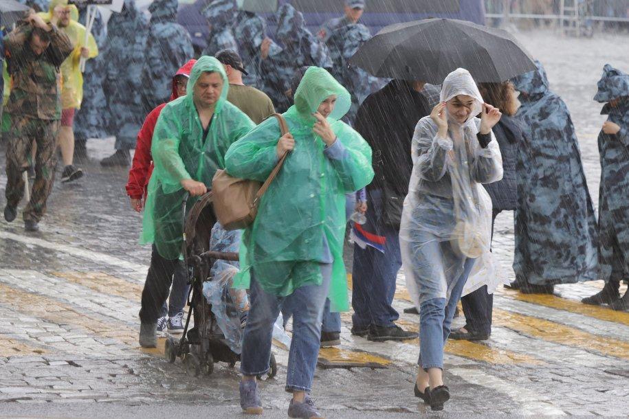 Треть месячной нормы осадков выпадет в Москве до четверга