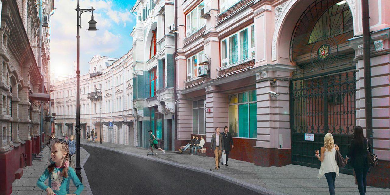 Улицу Ильинка и прилегающие к ней переулки благоустроят