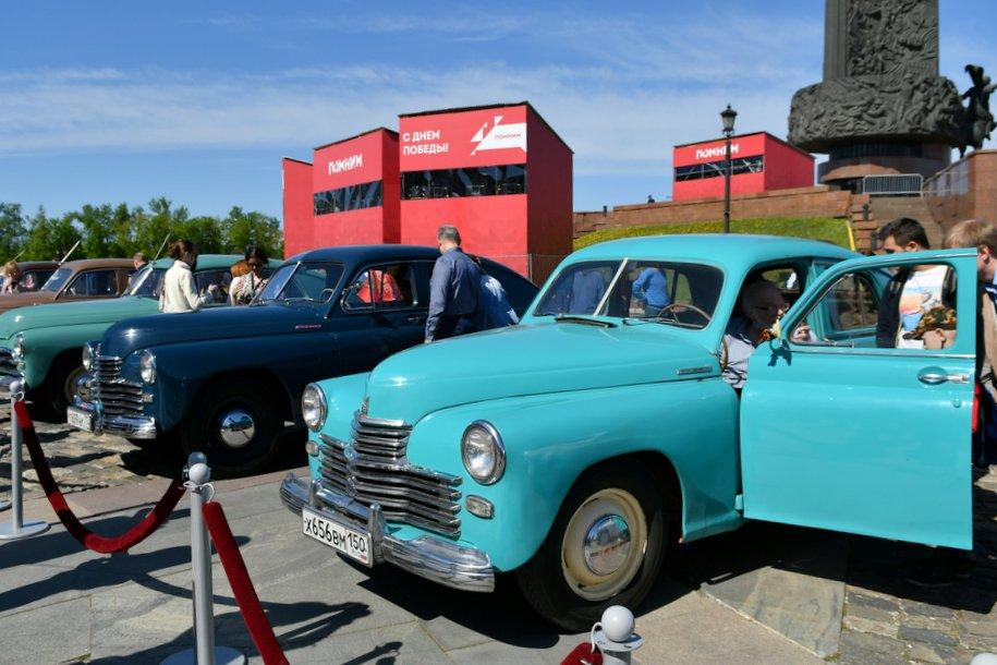 В Москве пройдет автопробег на машинах времен Великой Отечественной войны
