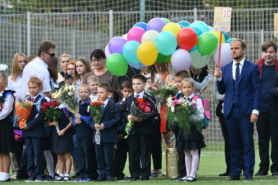 В городе Московском открыли новую школу на 775 мест