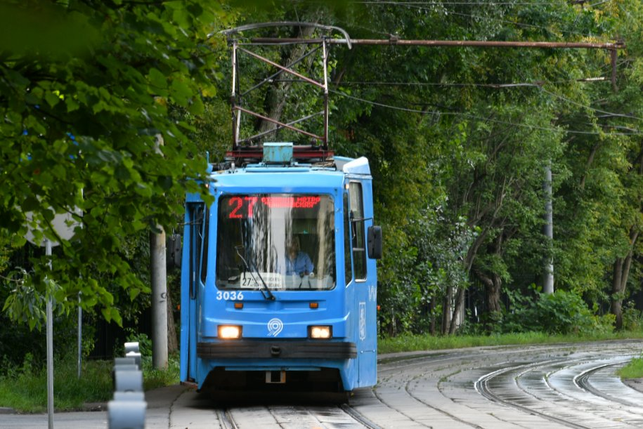 На Юго-Востоке столицы отремонтируют более 2 км трамвайных путей