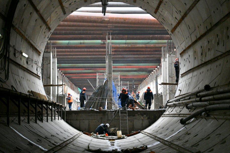 На северо-востоке Москвы началось строительство тоннеля БКЛ от «Стромынки» до «Ржевской»