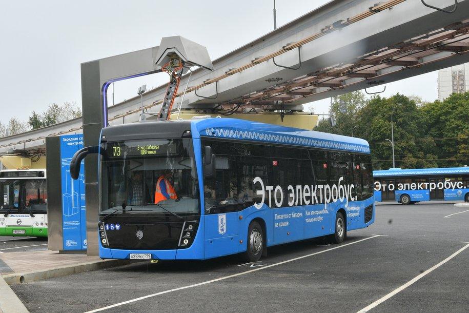 Московские электробусы перевезли около 5 млн пассажиров с момента запуска в сентябре 2018 года