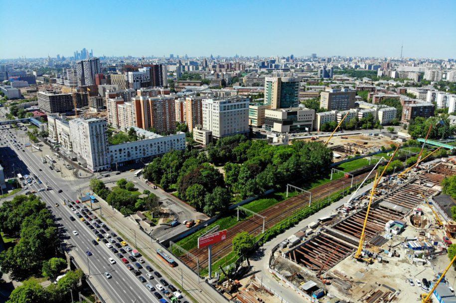 На станции «Лефортово» Большого кольца метро ведутся отделочные работы