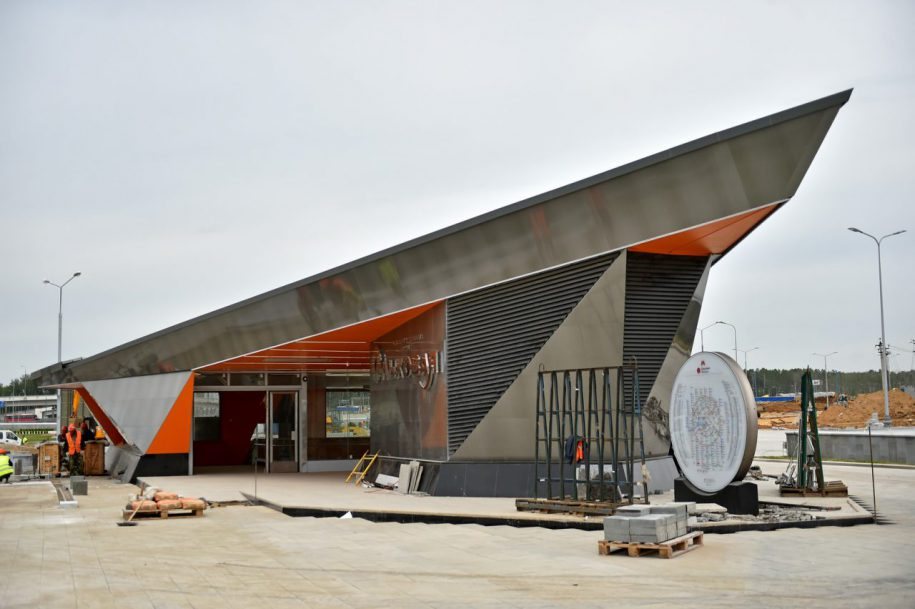 Новый участок Сокольнической линии метро откроется летом