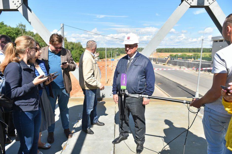 Участок трассы от Калужского шоссе до ТПУ «Столбово» откроется летом