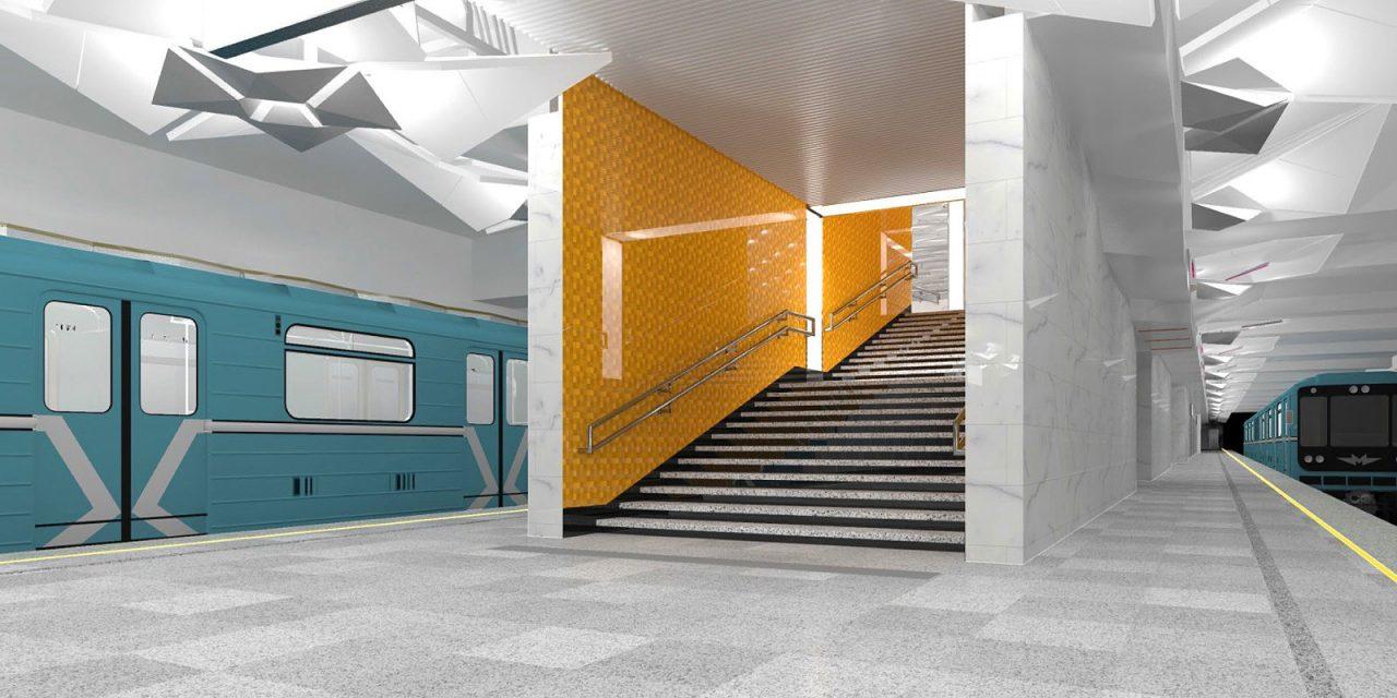 Станция метро «Ольховая» Сокольнической линии почти построена
