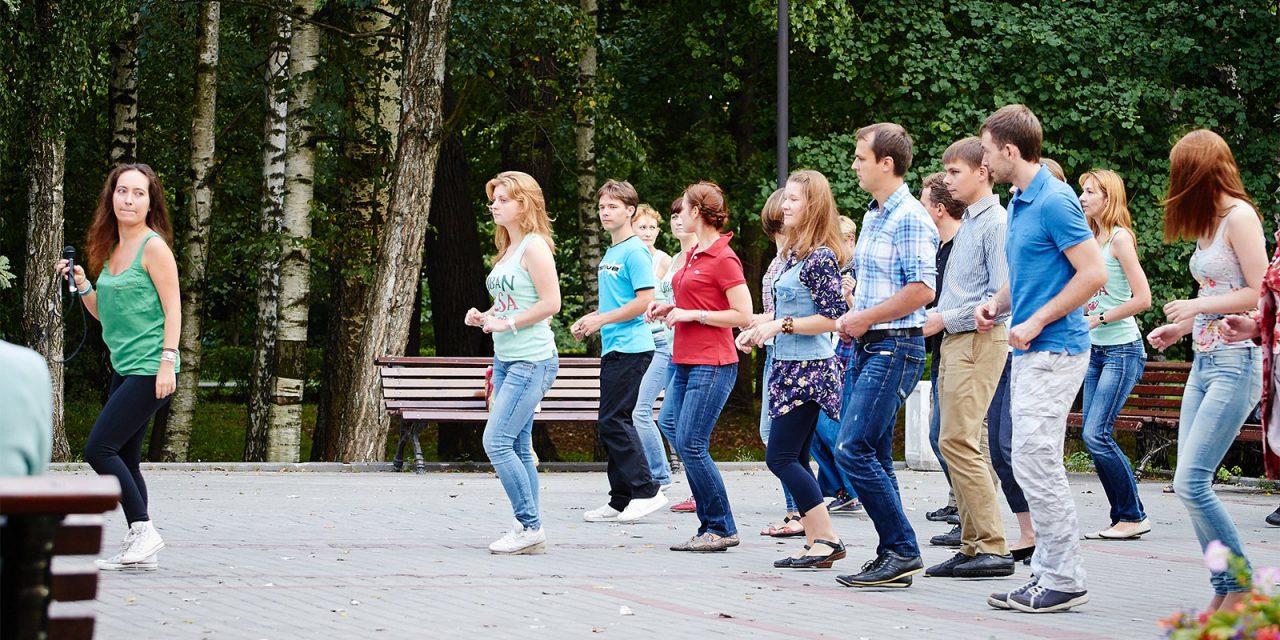 Танцплощадки откроются летом в парках