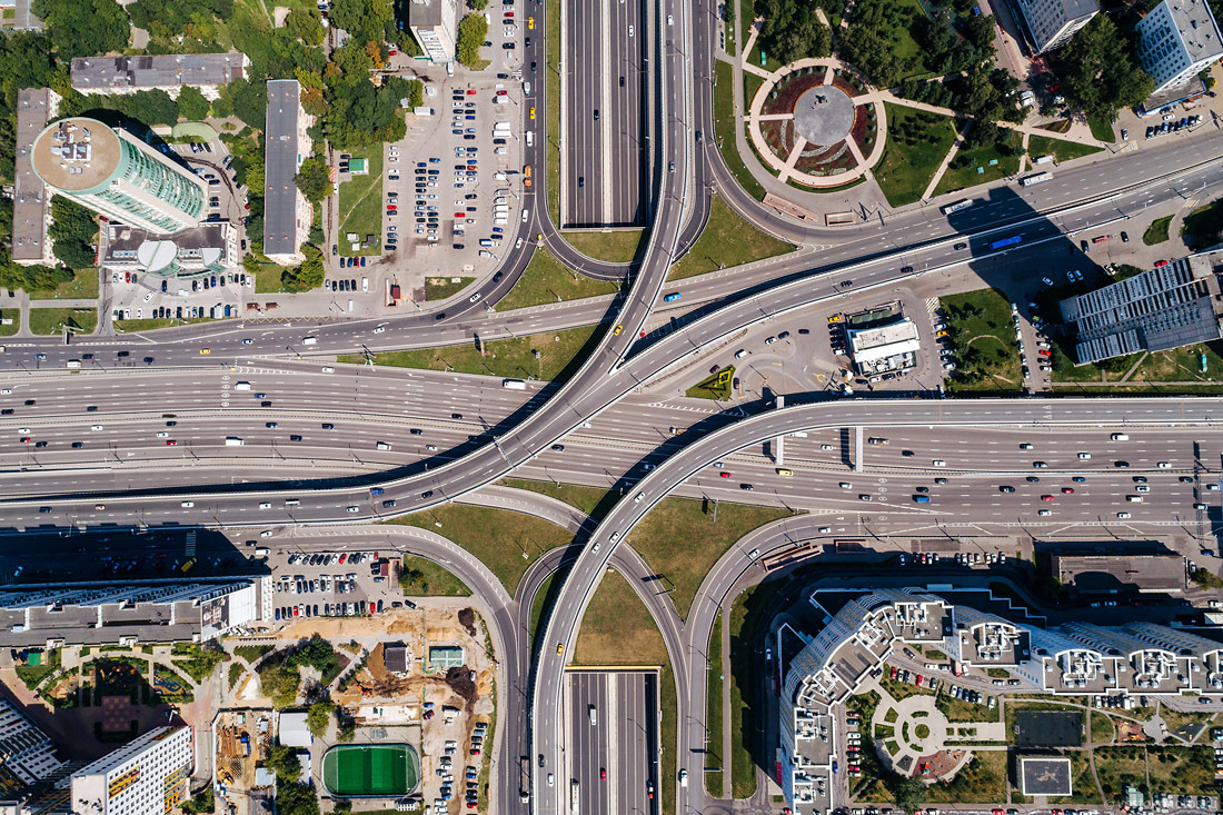 За 7 лет в Новой Москве построили более 190 километров дорог