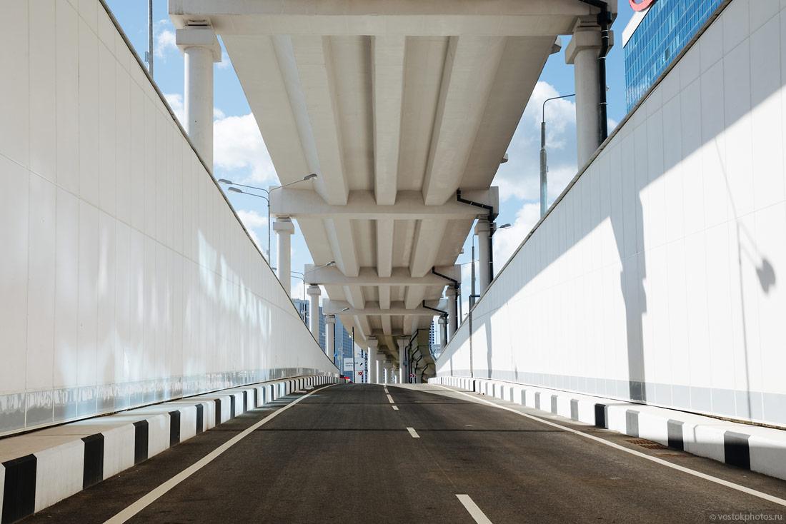 Дорожная сеть в районе нового путепровода на юго-востоке Москвы реконструирована