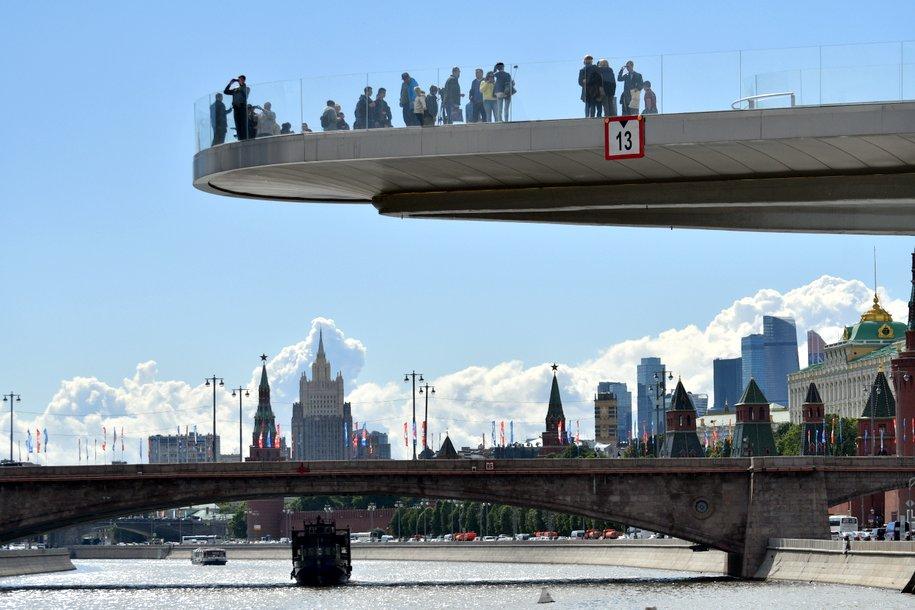До конца 2023 года в столице появится 13 мостов через Москву-реку