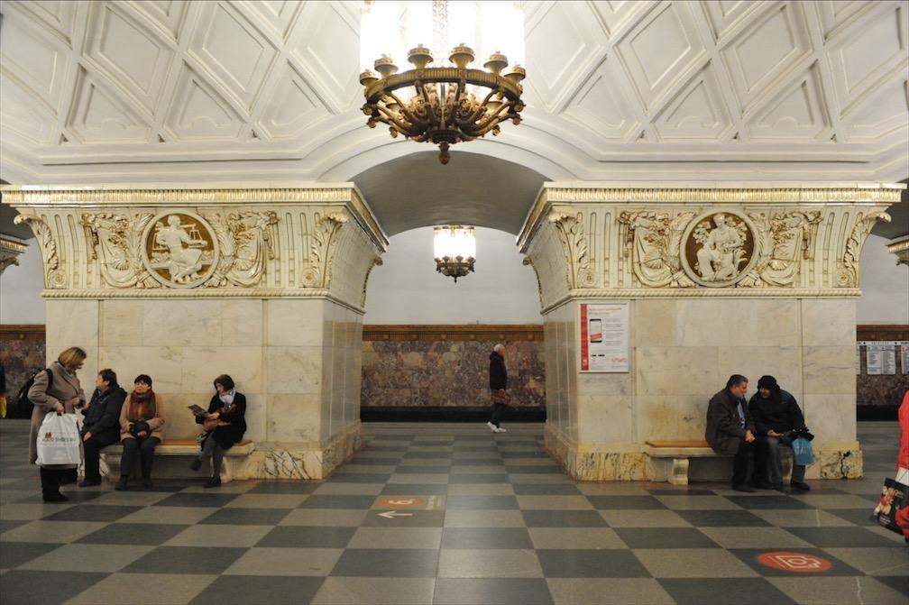 Станция «Проспект Мира» Кольцевой линии московского метро будет закрыта на вход утром 4 июня
