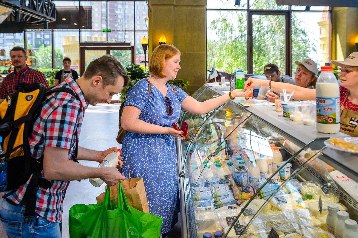 Мэр Москвы пригласил жителей столицы на круглогодичную ярмарку в Новокосино