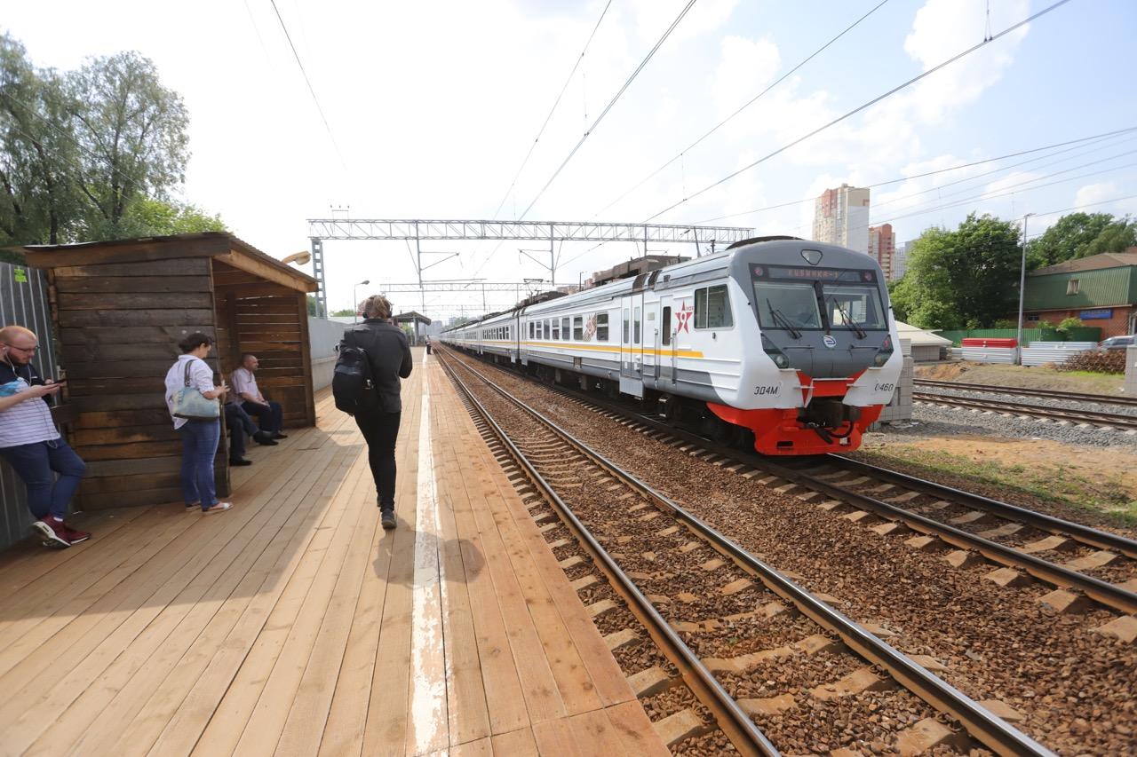 В мае подмосковные электрички перевезли почти 50 млн пассажиров