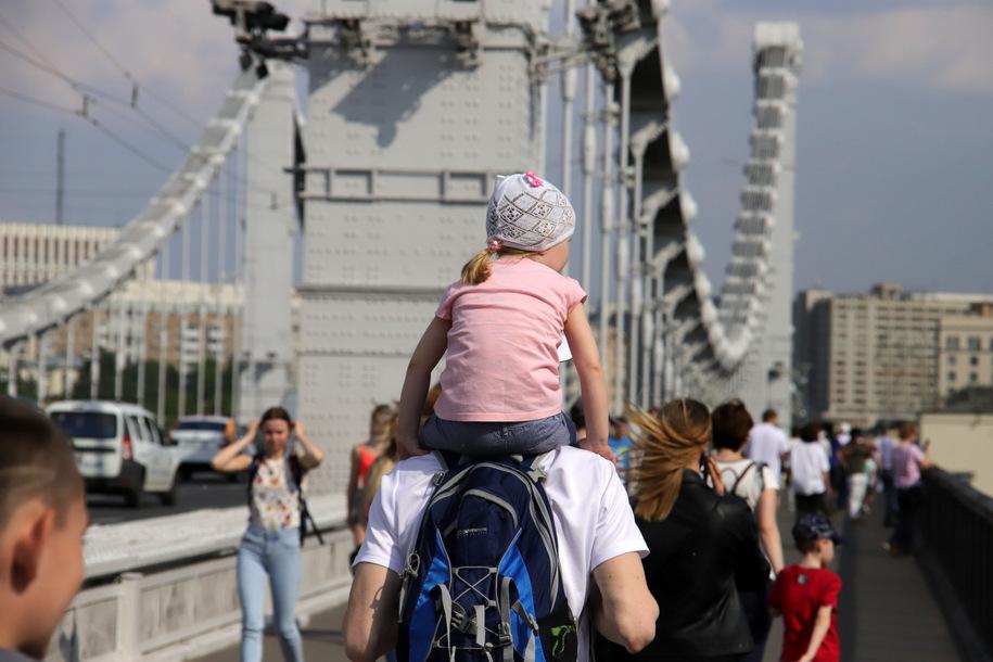 Праздничную программу ко Дню России подготовили 28 парков Москвы