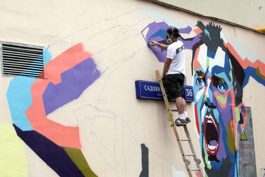 В парке «Тюфелева роща» научат создавать граффити