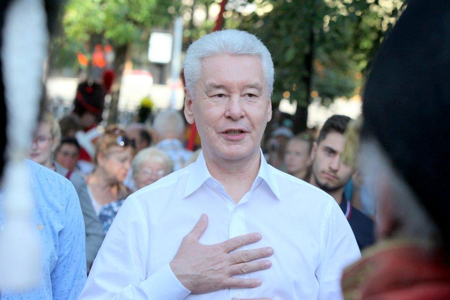 Алексей Шапошников поздравил с Днём рождения мэра Москвы Сергея Собянин