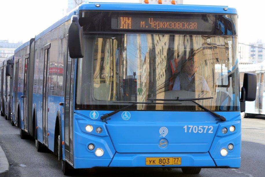 Мосгортранс запустит бесплатные автобусы на время закрытия Филёвской ветки метро
