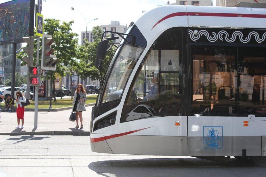 Еженедельно трамваями «Витязь-М» пользуются более 2 миллионов пассажиров
