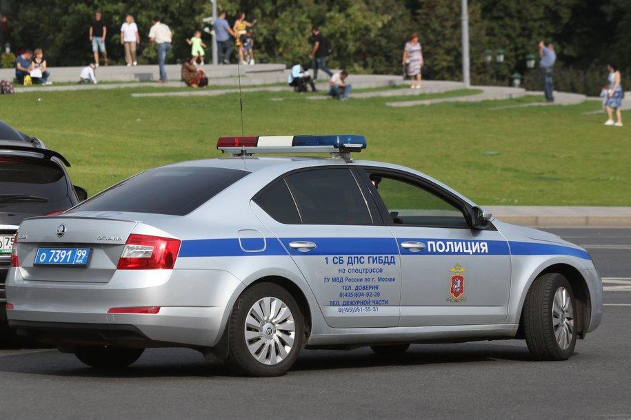 В понедельник в центре Москвы ограничат движение