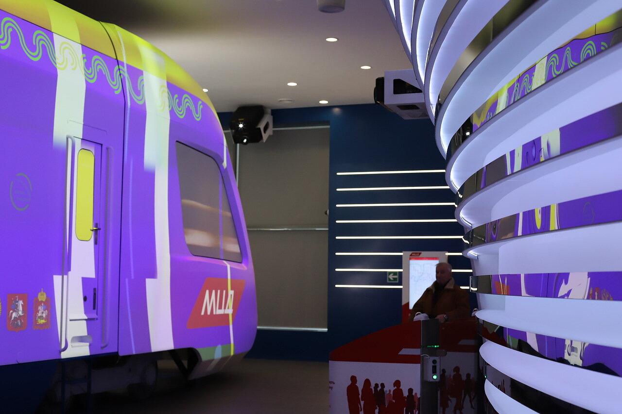 В демонстрационном павильоне Московских центральных диаметров откроется выставка эволюции