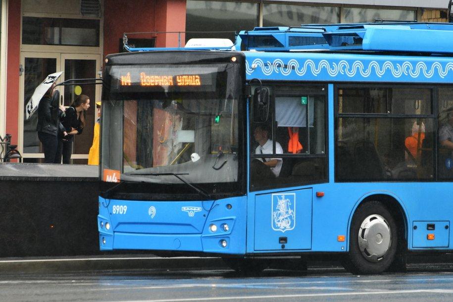 Электробус вышел на маршрут «Бескудниково-Самотечная площадь»