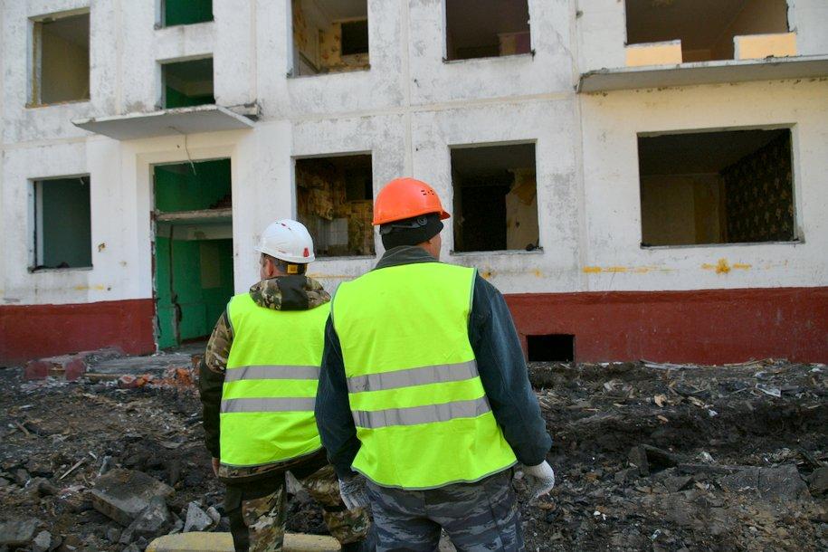 По программе реновации в Солнцево построят дом с комбинированными фасадами