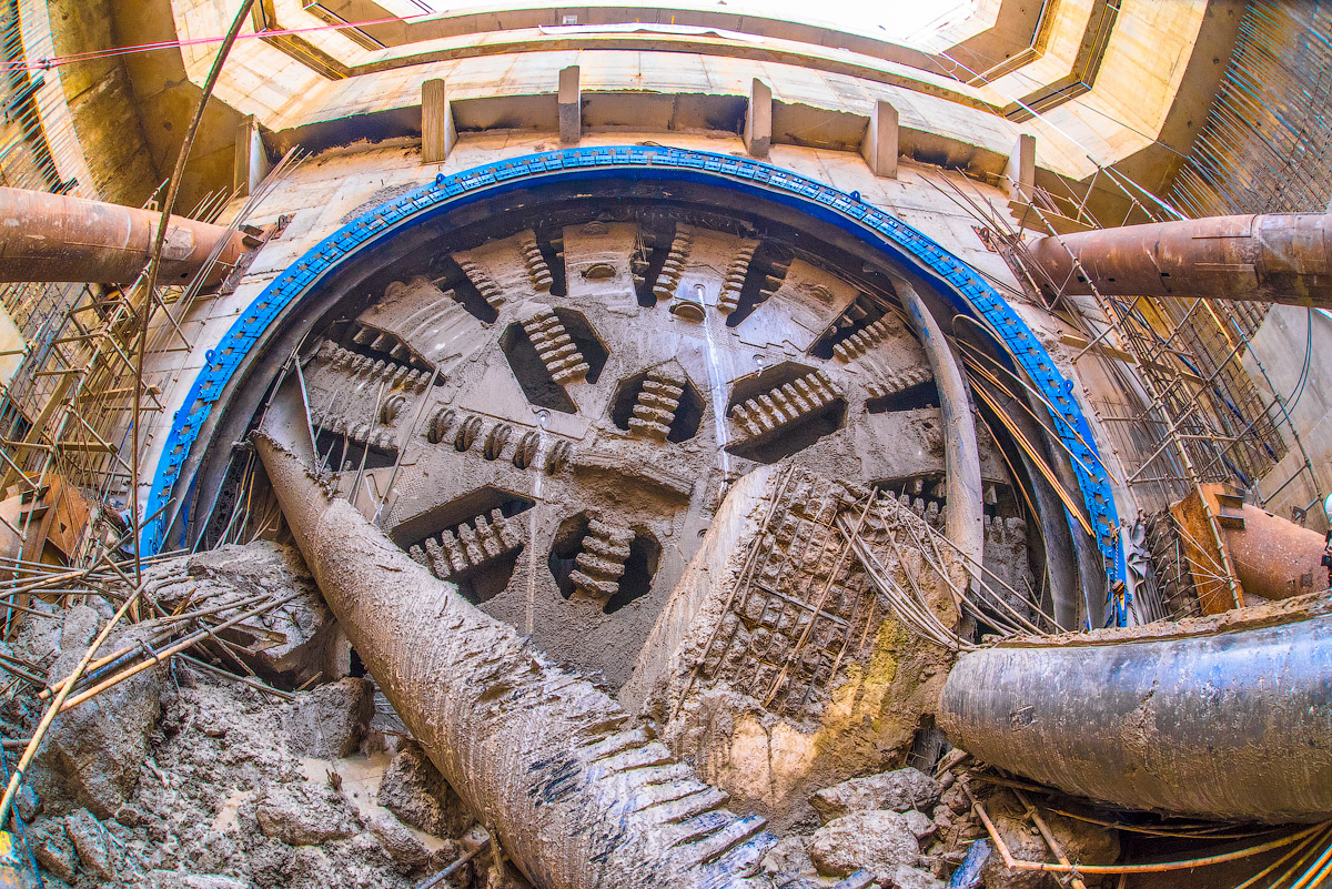 На строительстве БКЛ метро задействовано 15 тоннелепроходческих щитов