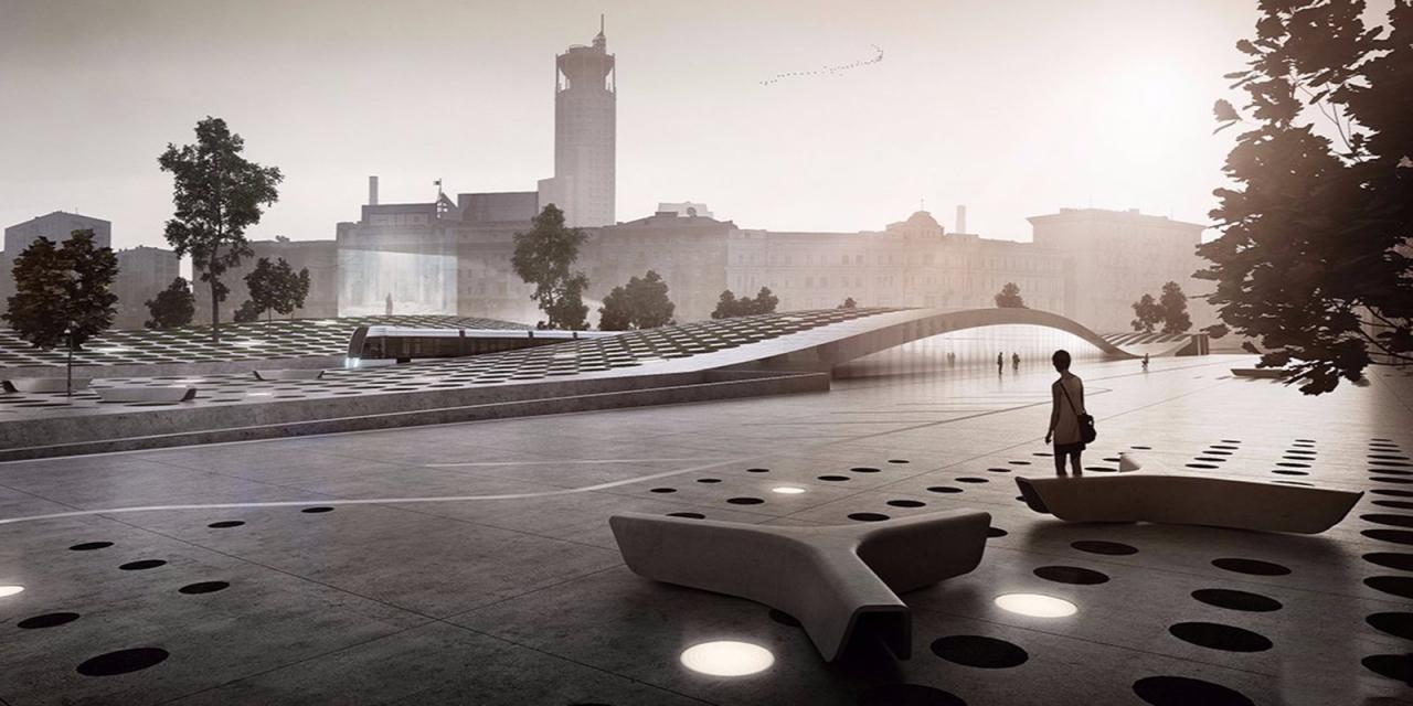 На Павелецкой площади появится новое общественное пространство