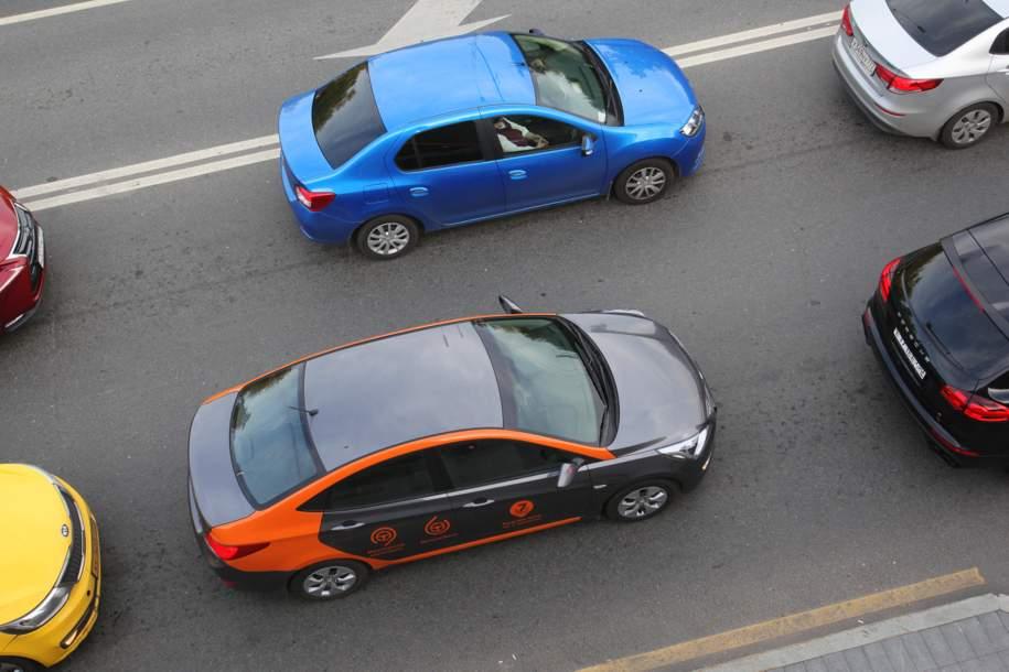 За полгода горожане совершили более 24 миллионов поездок на автомобилях системы каршеринга