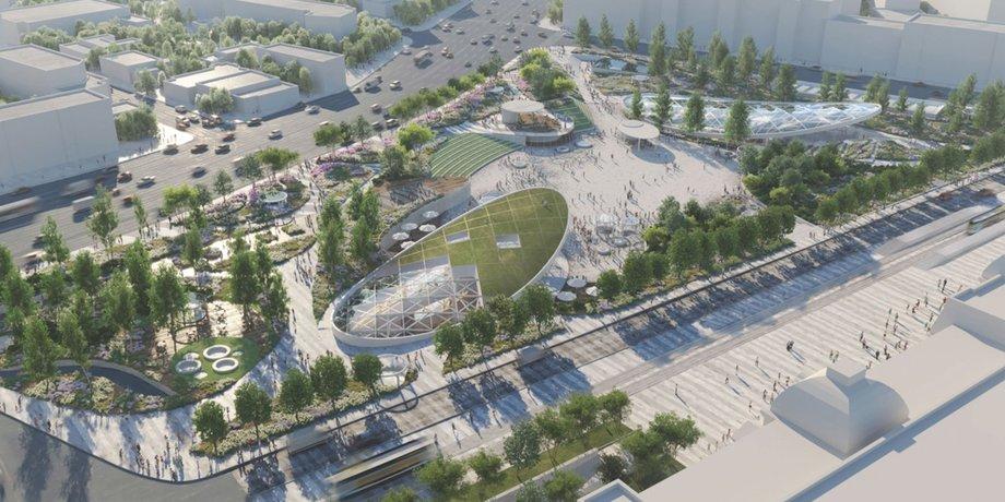 Москомархитектура согласовала проект благоустройства Павелецкой площади