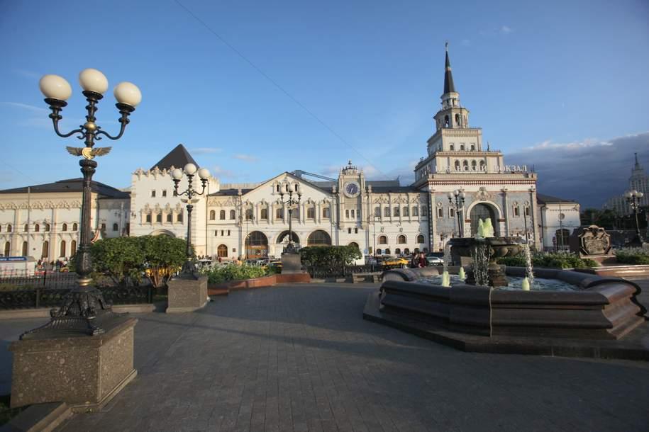 В Москве благоустраиваются все привокзальные территории
