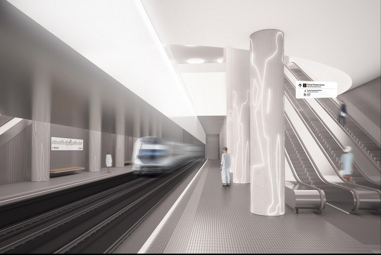 Готов котлован для строительства станции БКЛ метро «Мнёвники»