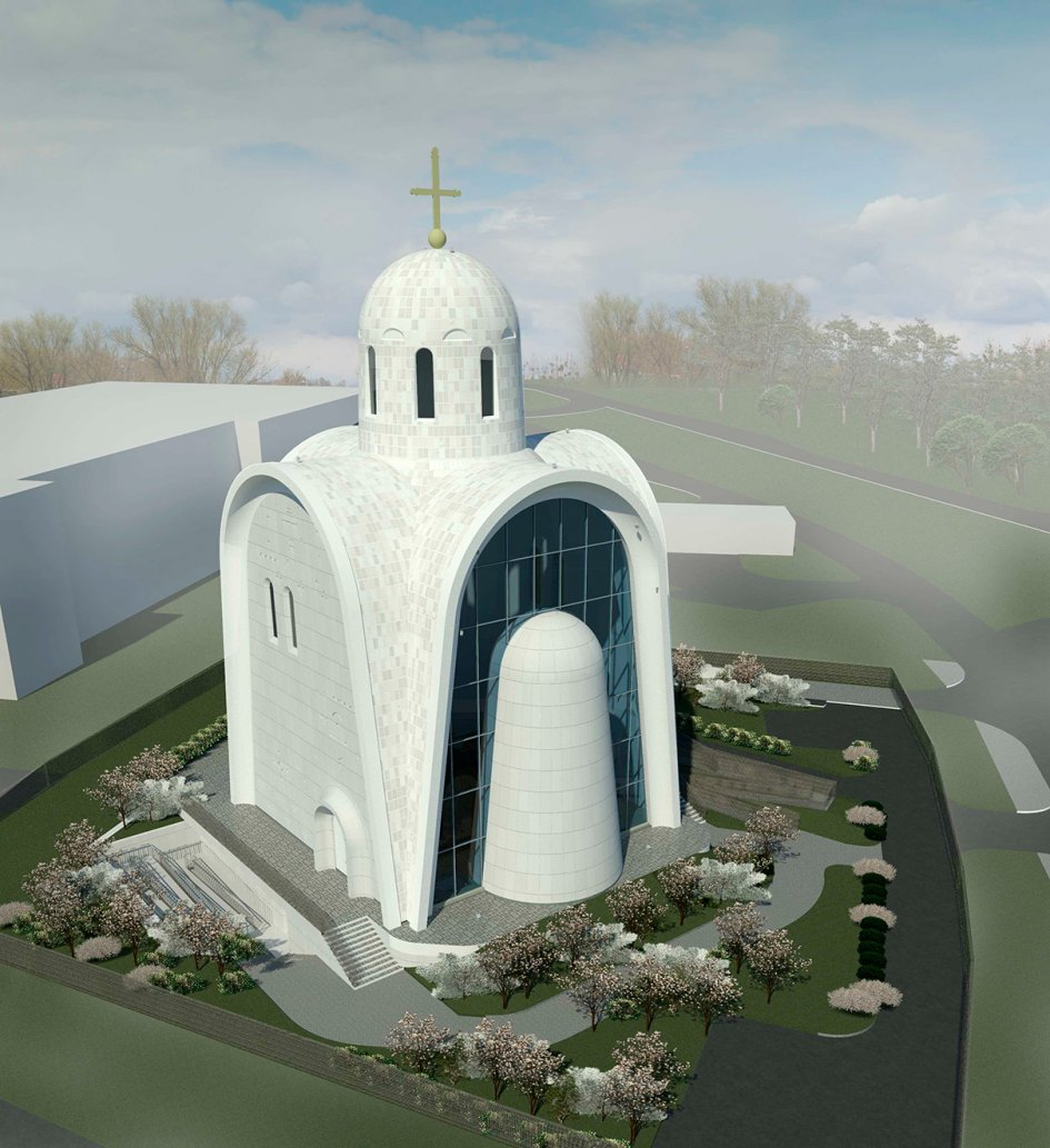 Необычная церковь появится на западе Москвы