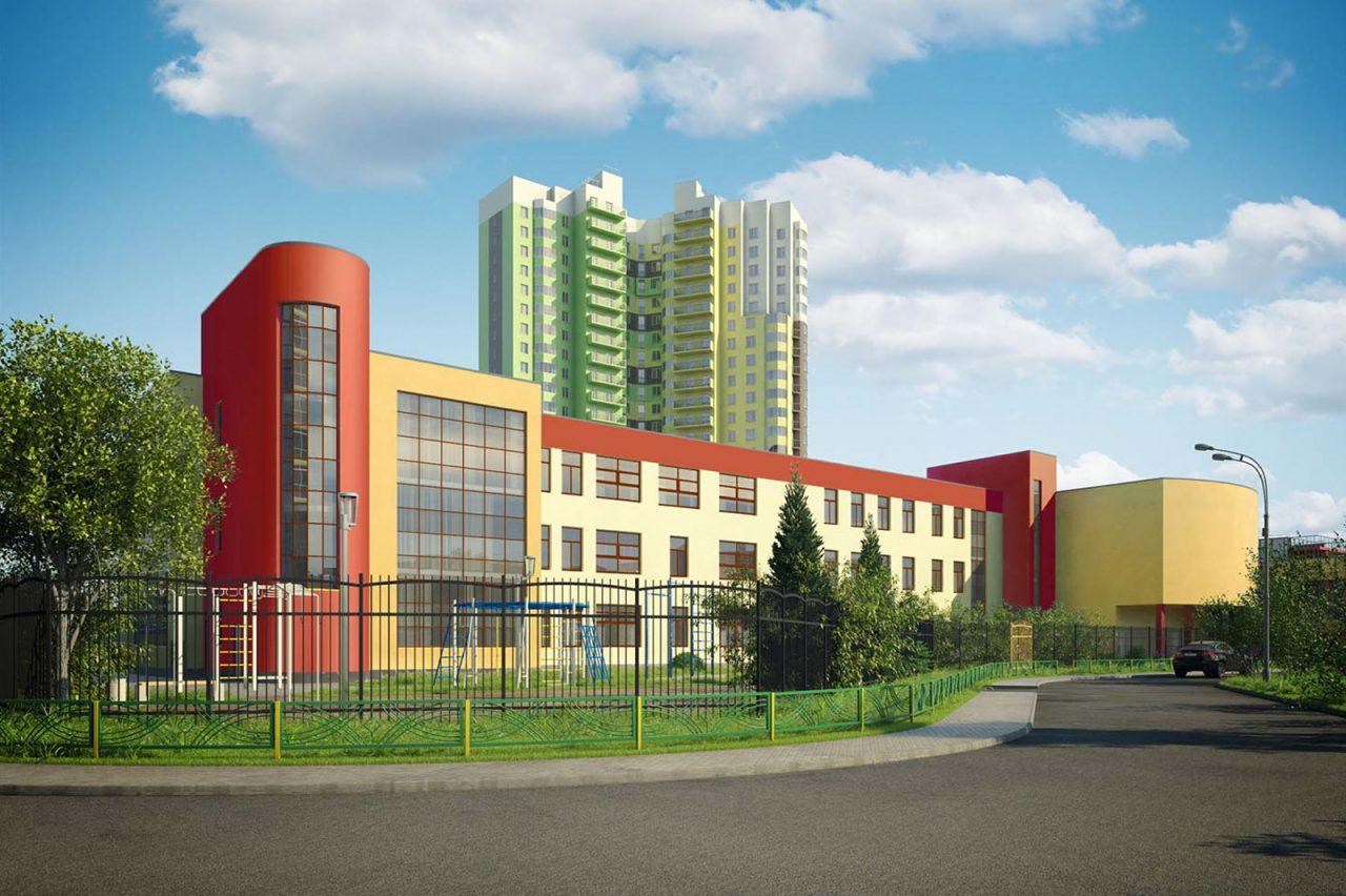 В районе Крылатское появится школа в форме самолета