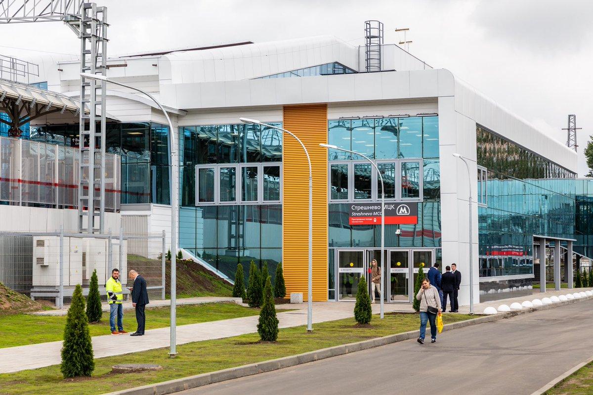 Сергей Собянин открыл северный терминал ТПУ «Стрешнево»
