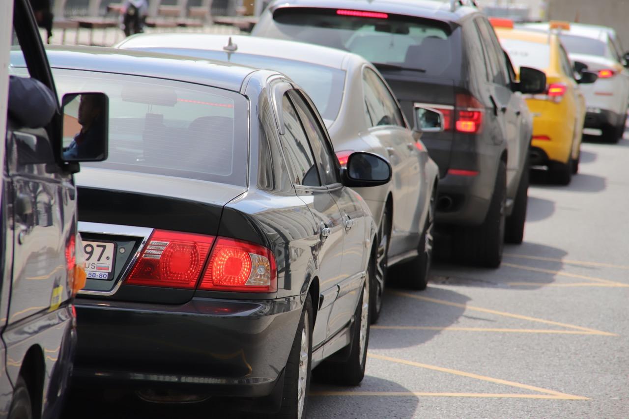 Загруженность столичных дорог оценивается в 4 балла
