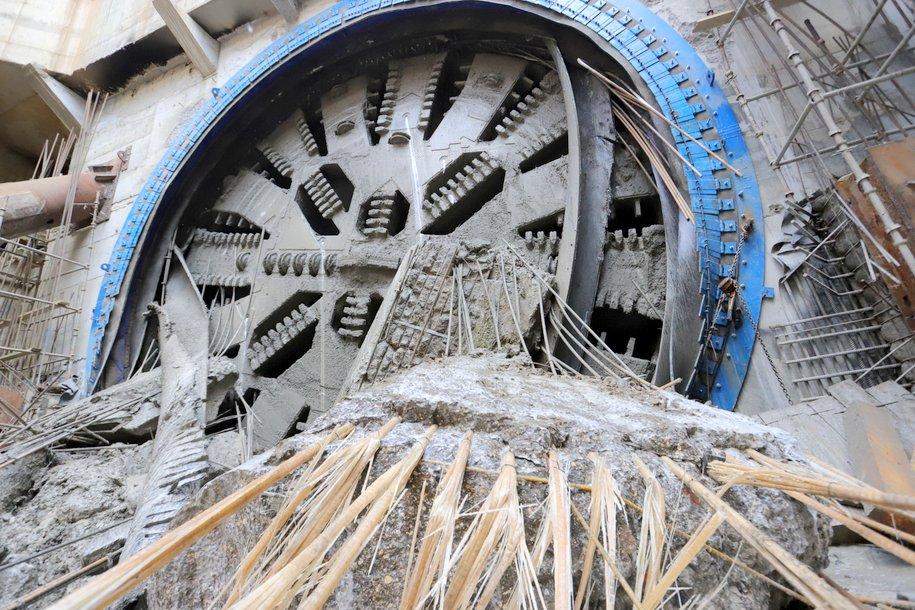 Строительство метротоннеля под Сокольнической линией идет с опережением графика