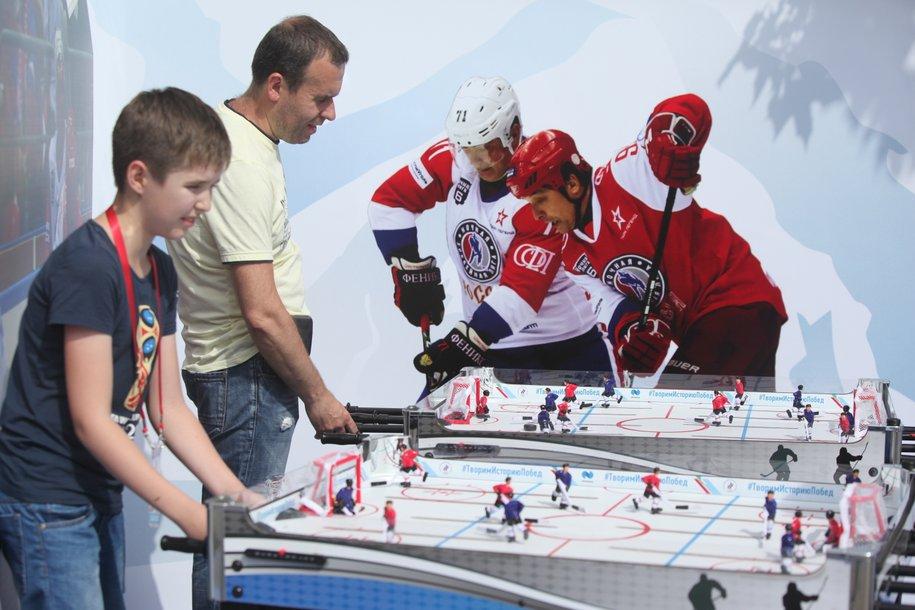 На западе столицы появится ледовый комплекс с хоккейным кластером