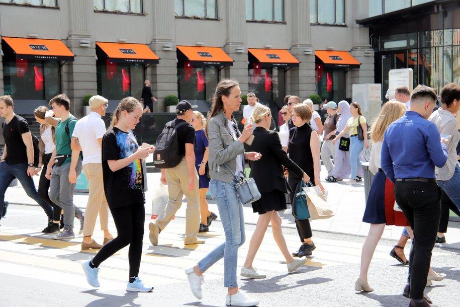 Среднемесячная температура с начала июля в Москве ниже климатической нормы на 3 градуса