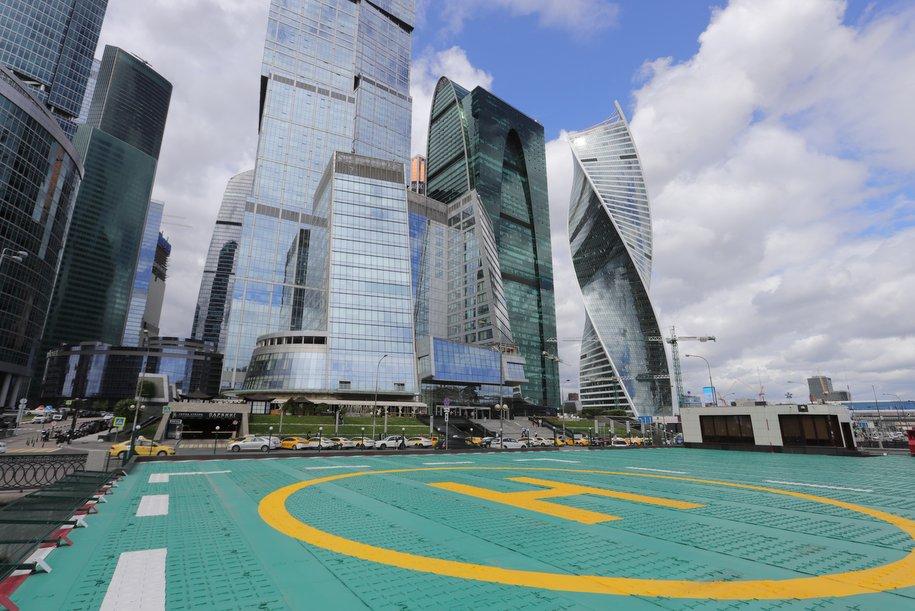 В «Москва-Сити» ввели гигантский паркинг
