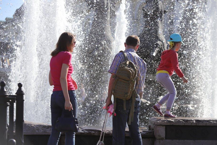Тепло до плюс 25 градусов вернется в Москву на следующей неделе