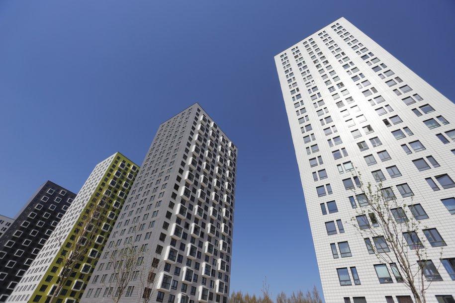 На западе столицы для переселения по программе реновации передали новый жилой дом
