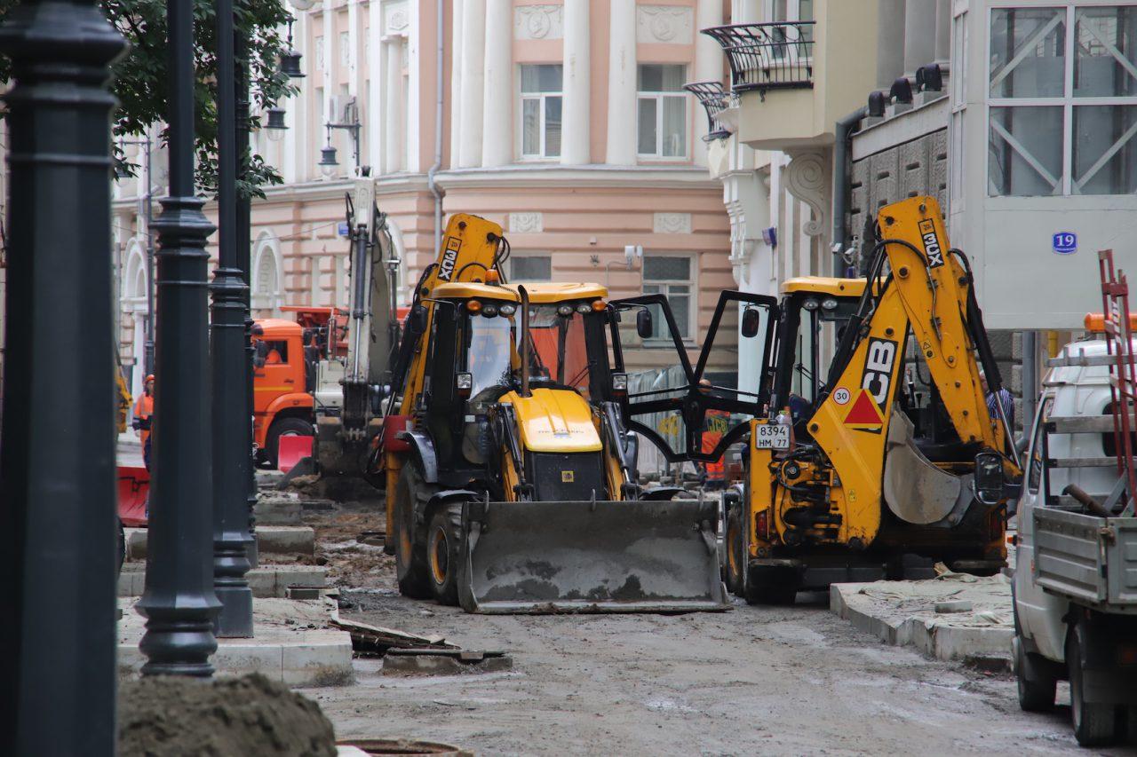 Основные работы по благоустройству районов Москвы будут завершены к осени